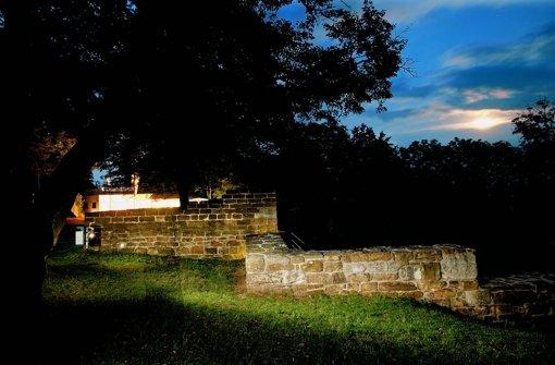 Nabu will kein Licht auf der Ruine