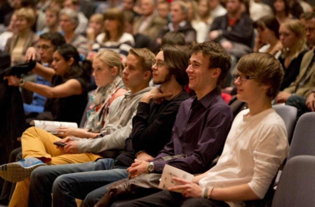 Für viele Erstsemester hat das Studium an der Uni Stuttgart gerade erst begonnen. Foto: Steinert