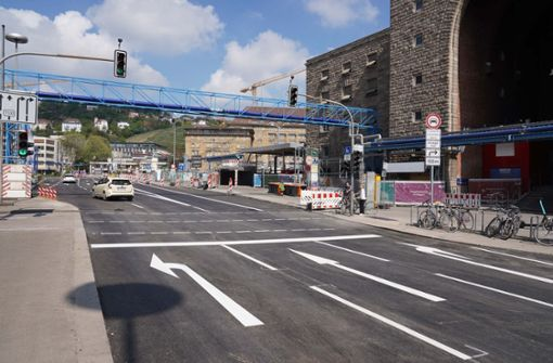 Schillerstraße bald wieder befahrbar