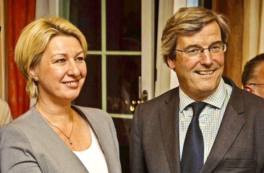 Nicola Schelling und Thomas Bopp  – ihr Verhältnis ist zerrüttet. Foto: Lichtgut/Achim Zweygarth