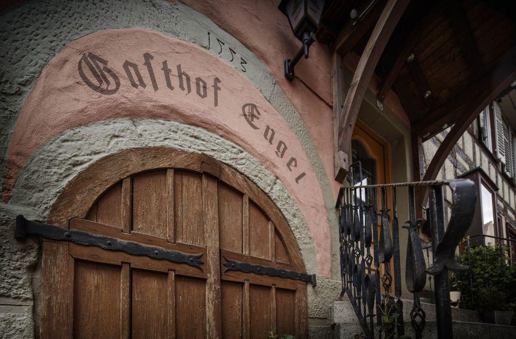 Der Murrhardter Engel ist seit 1553 in Familienbesitz. Foto: Gottfried Stoppel