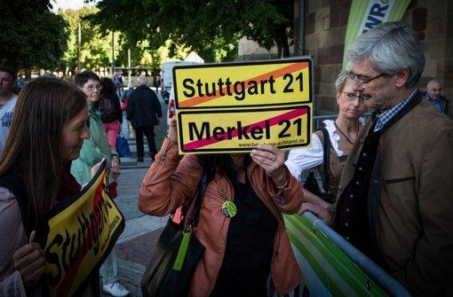 Umweltverbände kritisieren die Bundesregierung wegen vermuteter politischer Einflussnahme  bei Stuttgart21. Foto: Achim Zweygarth