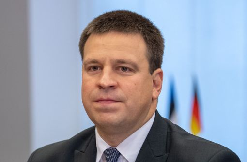 Estlands Regierungschef kündigt Rücktritt an