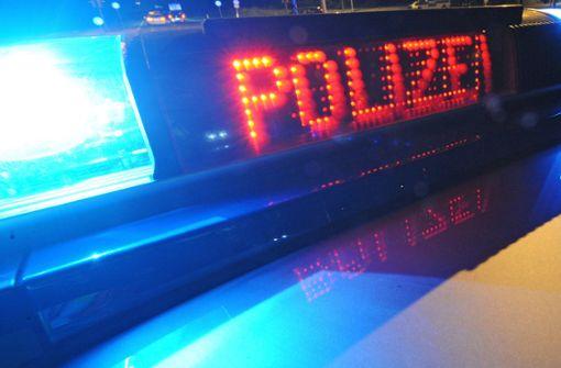 Polizei nimmt Randalierer  mit