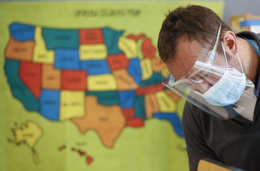 Zahl der Neuinfektionen steigt in den USA weiter dramatisch