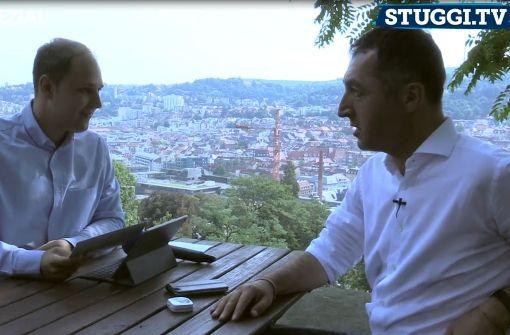 So will der Grüne in Stuttgart seinen CDU-Konkurrenten schlagen