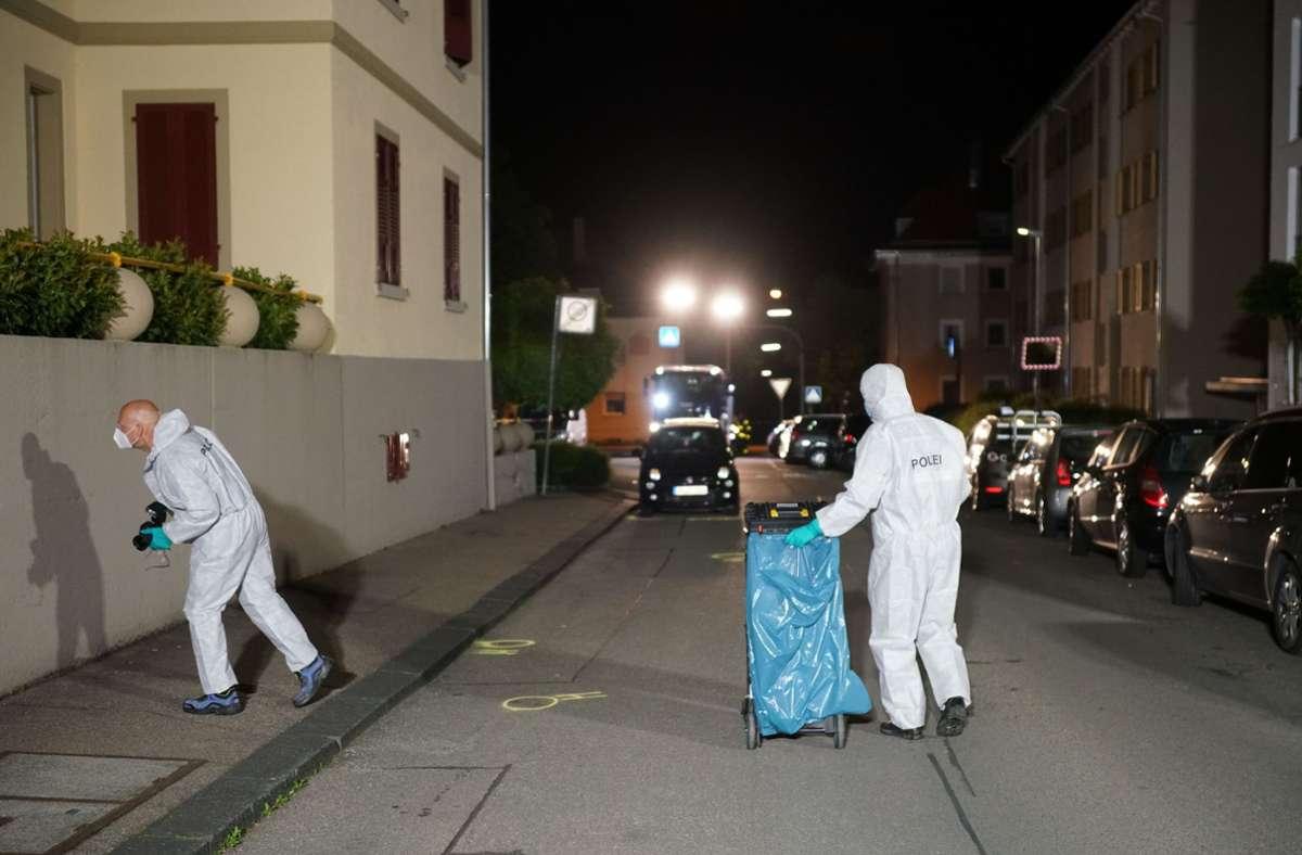 In der Göppinger Innenstadt ist ein Mann angeschossen worden. Foto: SDMG/SDMG / Woelfl