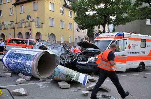 So viele Unfälle wie noch nie in Stuttgart