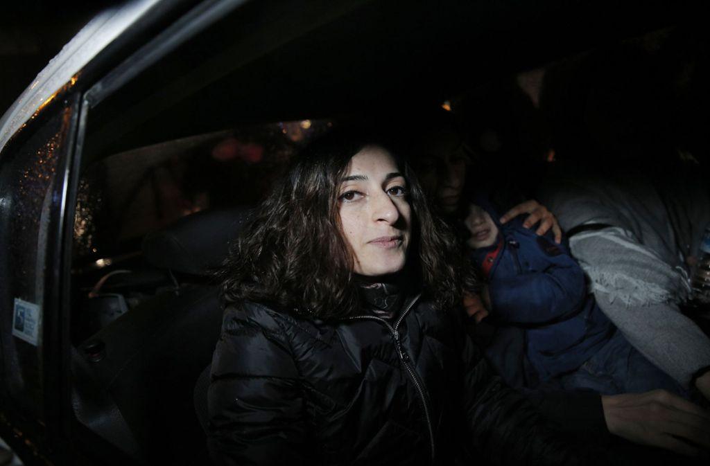 Die Journalistin Mesale Tolu wird am Sonntag zurück in Deutschland sein. Sie landet in Stuttgart. Foto: AP