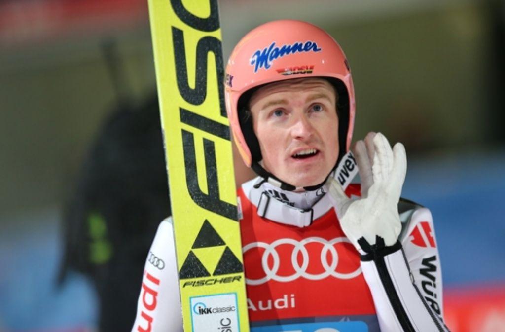 Severin Freund gelingt bei der Vierschanzentournee ein starkes Gesamtergebnis. Foto: dpa