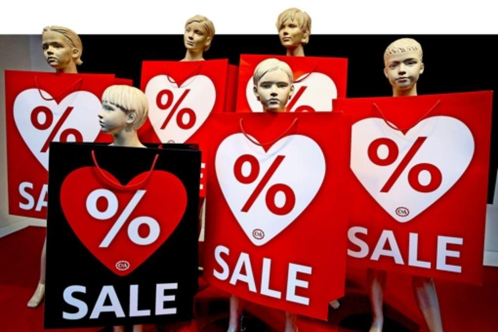 Händler blasen die Rabatte künstlich auf, indem sie den Verkaufspreis mit den unverbindlichen Preisempfehlungen der Hersteller vergleichen, die meist nur auf dem Papier stehen. Foto: dpa