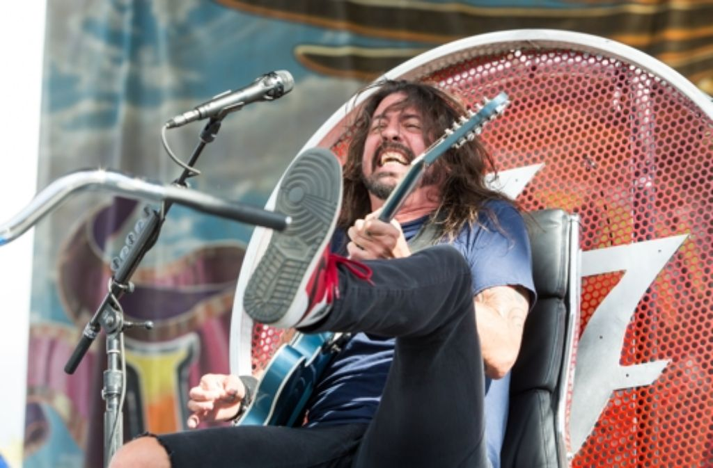 Dave Grohl, Frontmann der Foo Fighters. Foto: Invision