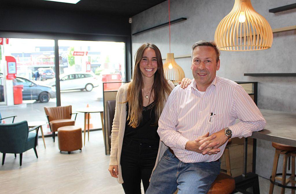 Isabelle Heck und ihr Vater Henry Heck  wagen neue Wege – um eine Zukunft zu haben. Foto: