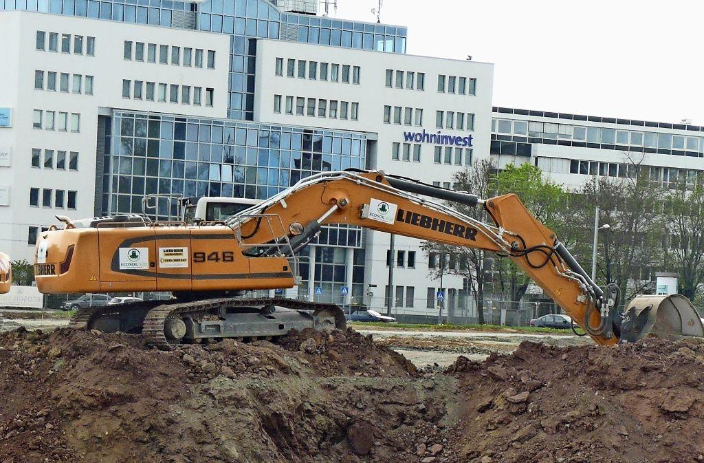 Der Automobilkonzern will im Synergiepark die Daimler-City bauen. Foto: Christoph Kutzer