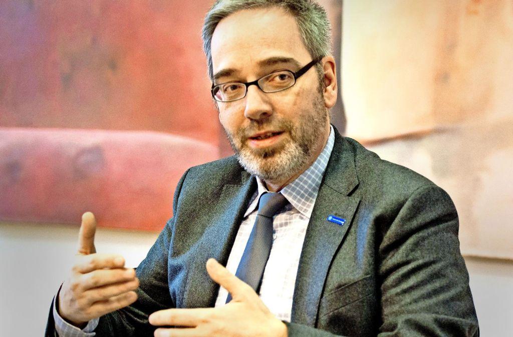 Der neue Stuttgarter Unikanzler Jan Gerken will vieles anders machen als seine abgewählte Vorgängerin. Foto: Lichtgut - Oliver Willikonsky