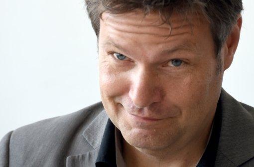 Umweltminister Habeck will Spitzenkandidat werden