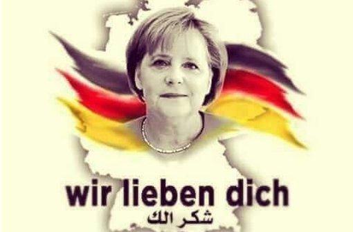 """""""Merkel, Mutter der Ausgestoßenen"""""""