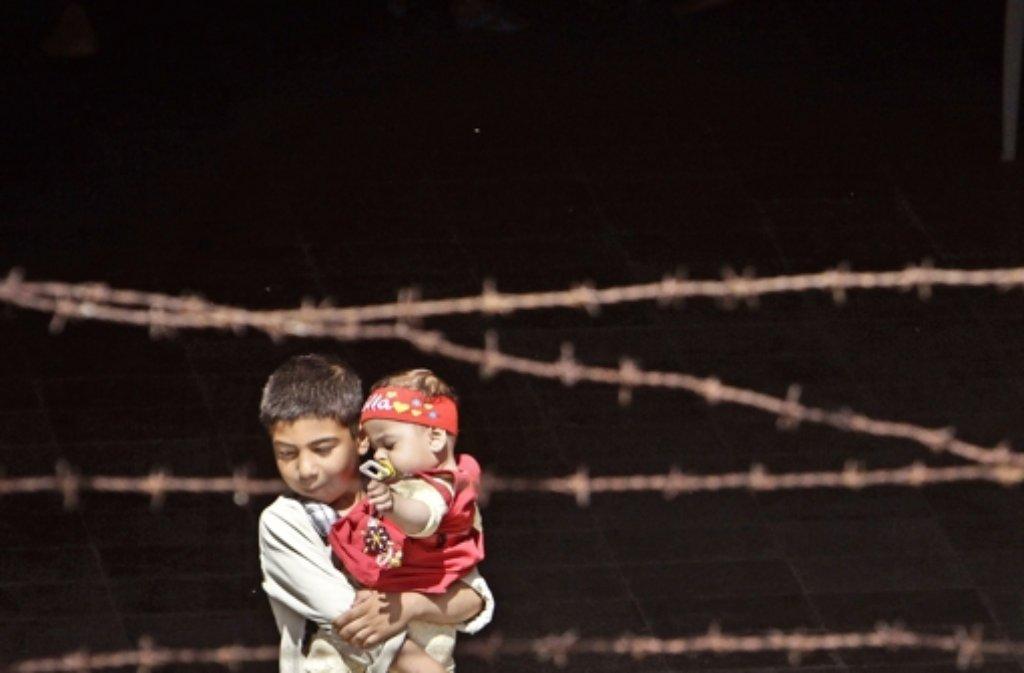 Flüchtlinge haben  ein schweres Schicksal Foto: dpa