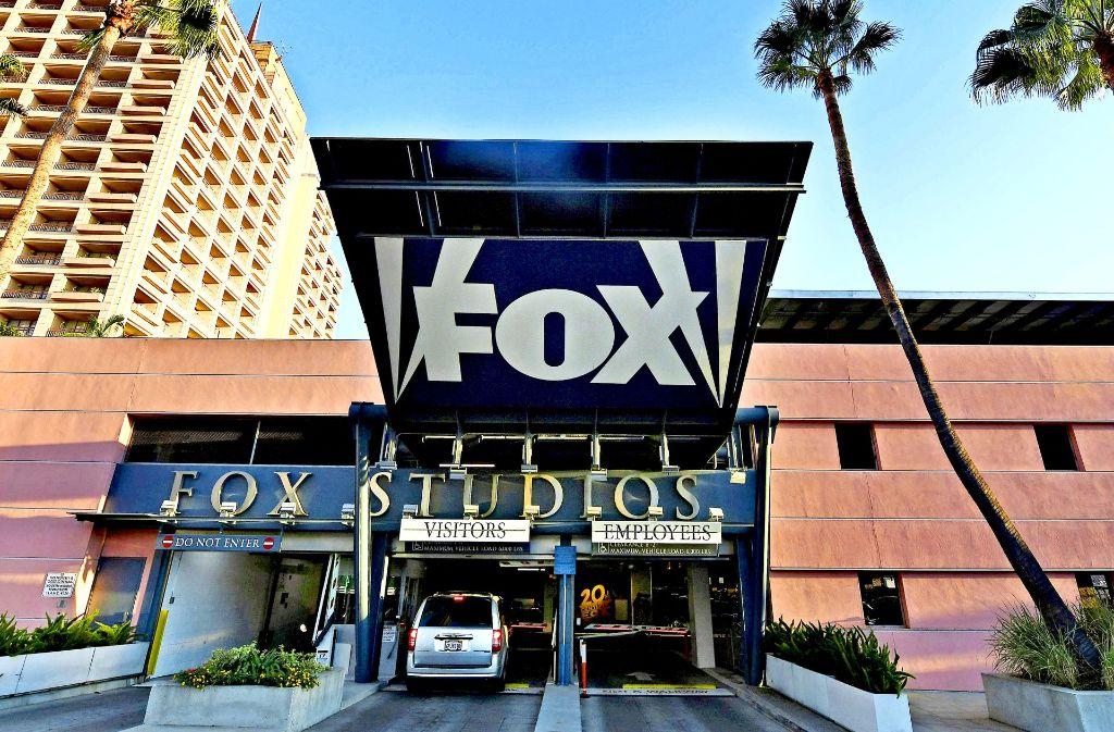 Das Hollywoodstudio Fox in West-LA: Disney will den Konkurrenten kaufen. Foto: AFP