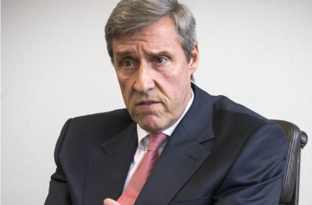 IHK-Präsident Georg Fichtner wehrt sich gegen Kritik. Foto: Achim Zweygarth