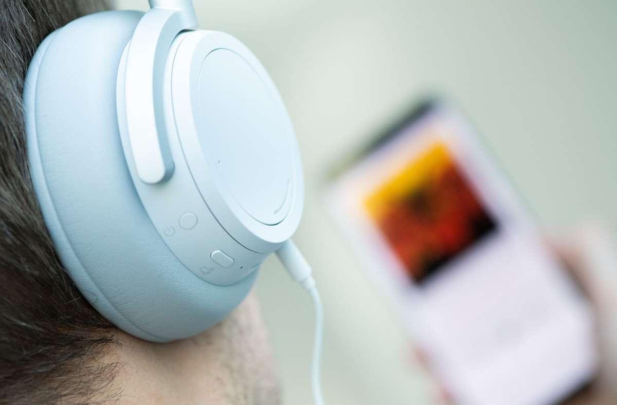 Dank großer Zuwächse im Audio-Streaming hat die deutsche Musikindustrie die Folgen der Corona-Pandemie beim Umsatz 2020 gut weggesteckt Foto: dpa/Franziska Gabbert