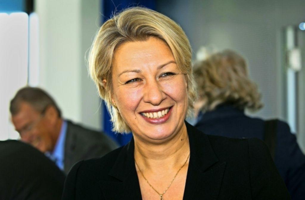 Die neue Regionaldirektorin ist da: Nicola Schelling. Foto: Horst Rudel