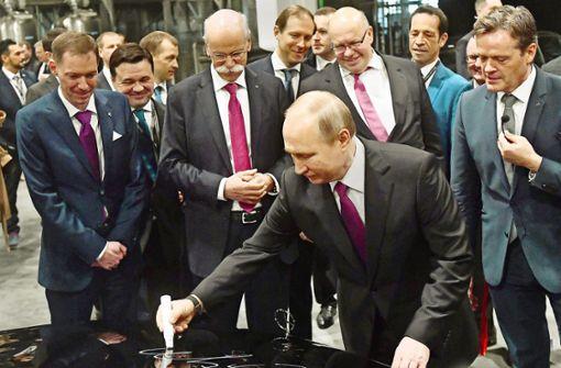 Daimler produziert für reiche Russen
