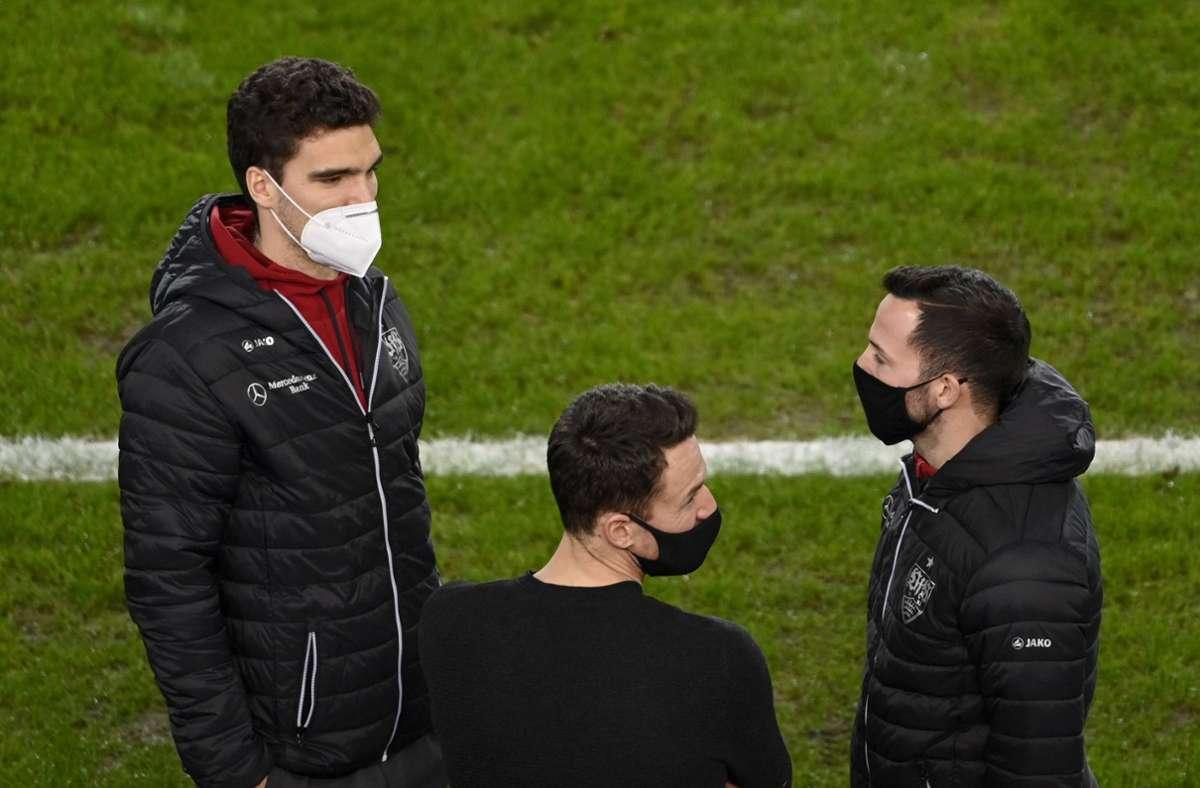 Marin Kaminski (links) und Gonzalo Castro (rechts) verlassen den VfB Stuttgart. Foto: imago images/Michael Weber