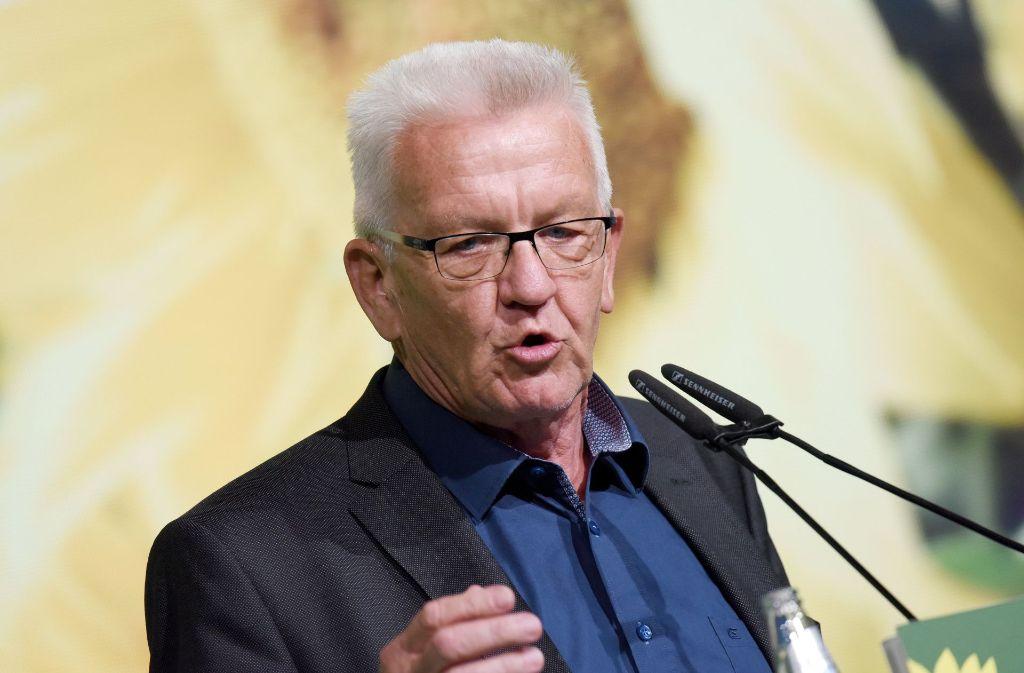Baden-Württembergs Ministerpräsident Winfried Kretschmann. (Archivbild) Foto: dpa