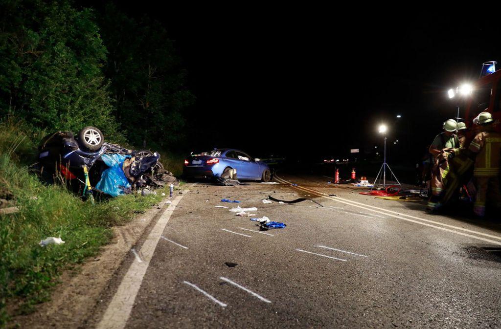 Drei Menschen kamen bei dem Unfall in Villingen-Schwenningen ums Leben. Foto: dpa