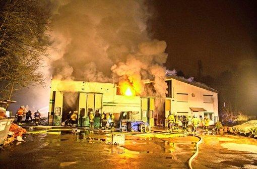 Ursache für Großbrand ist noch unklar