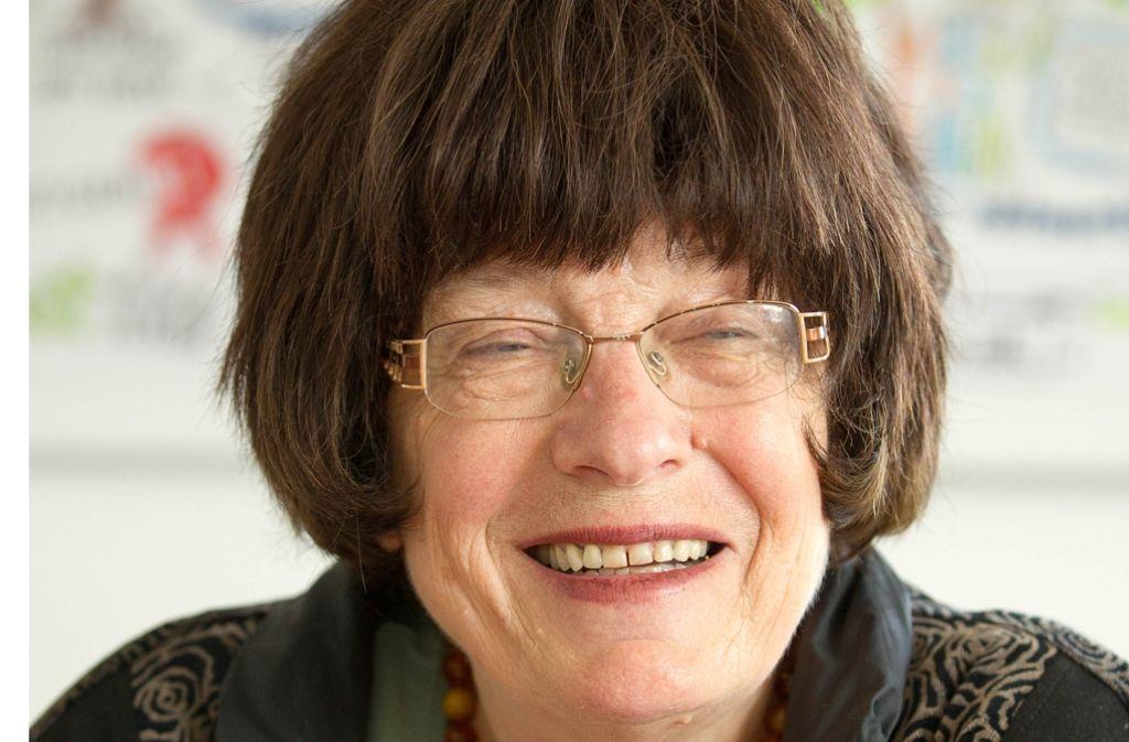 Staatsrätin mit Stimmrecht im Kabinett: Die Unternehmerin und Familienforscherin Gisela Erler. Foto: Lichtgut/Leif Piechowski
