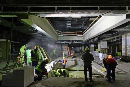 Umbau stellt    Logistiker vor große Probleme