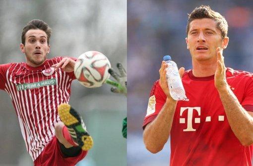 Was Lewandowski kann, kann Hahn schon lang