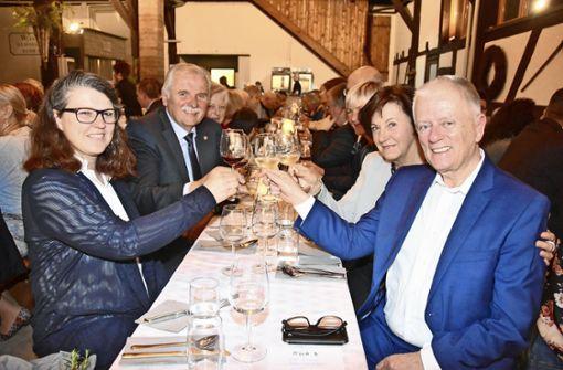 Jubiläumsfest im Kreis der WG-Familie