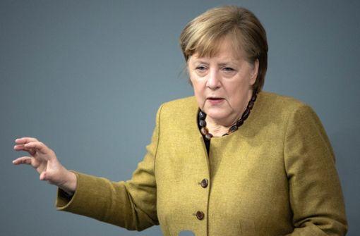 Angela  Merkel sieht Deutschland offenbar in dritter Pandemiewelle
