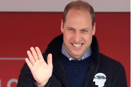 Prinz William offenbart sein Gefühlsleben