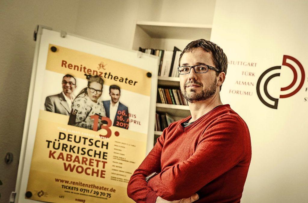 Das Kabarett ist politischer geworden, findet Kerim Arpad. Foto: Lichtgut/Leif Piechowski