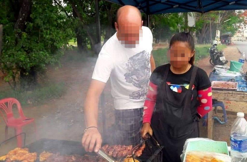 """Eines der Bilder, die  zur Verhaftung von """"Mister Max"""" führten. Foto: Thai Visa 2019"""