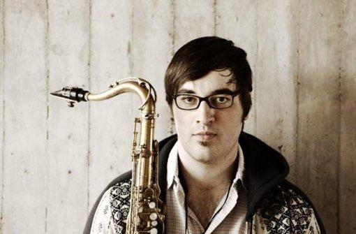"Das Saxofon ist sein Leben: Alexander ""Sandi"" Kuhn Foto: privat"