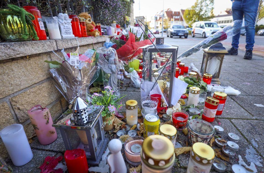 Gedenken an der Unfallstelle. Foto: factum/Simon Granville