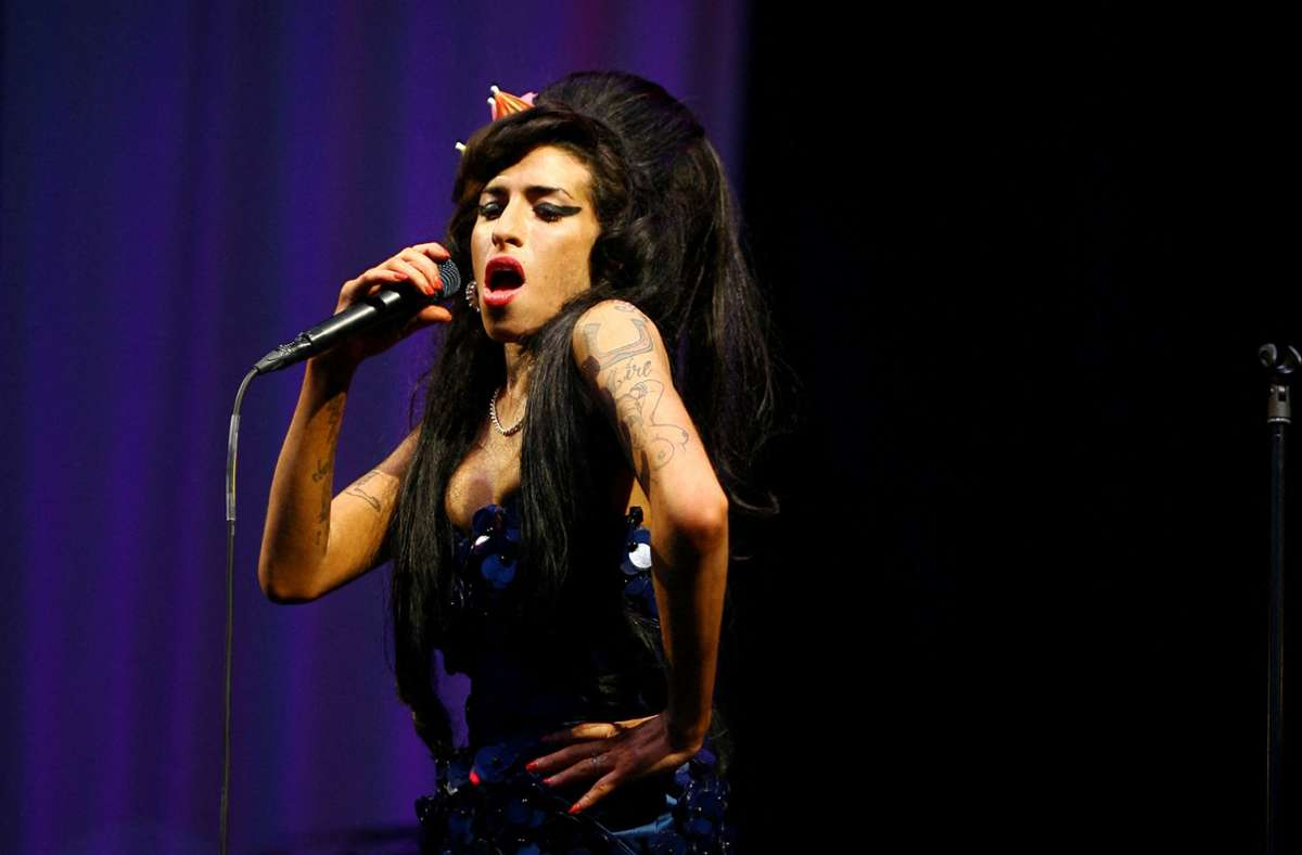 Amy Winehouse im Jahr 2008 Foto: AFP/BEN STANSALL