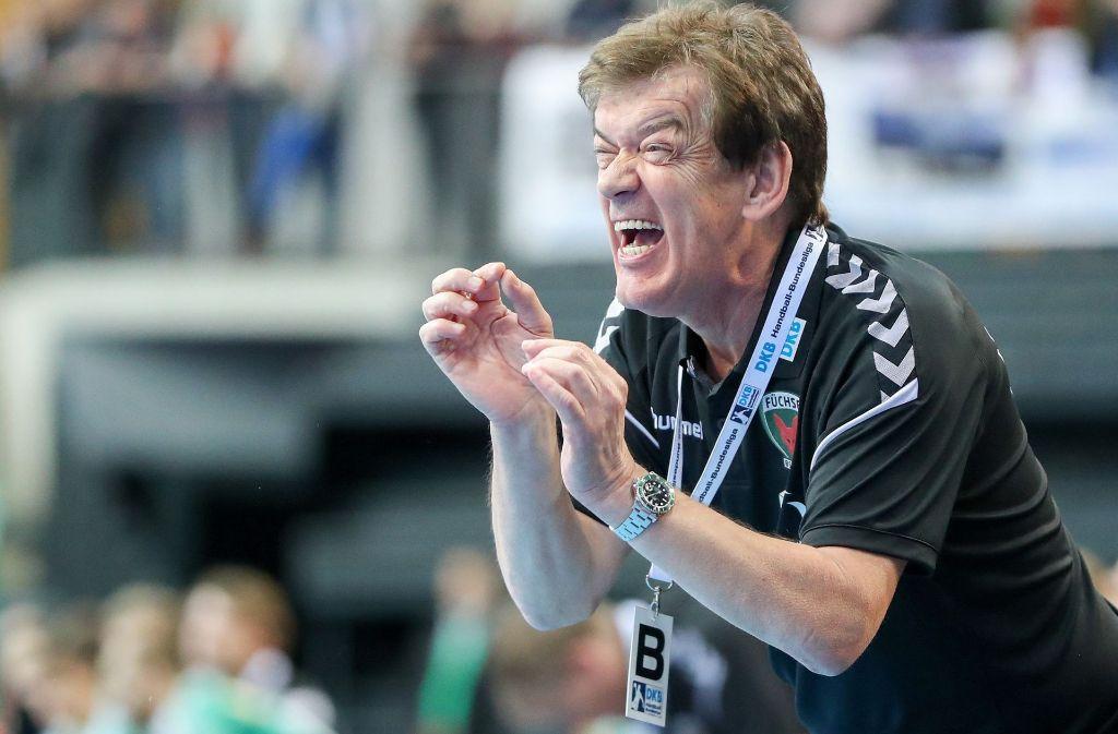 Mann mit Emotionen: Velimir Petkovic, der erfolgreiche Trainer der Füchse Berlin. Foto: dpa