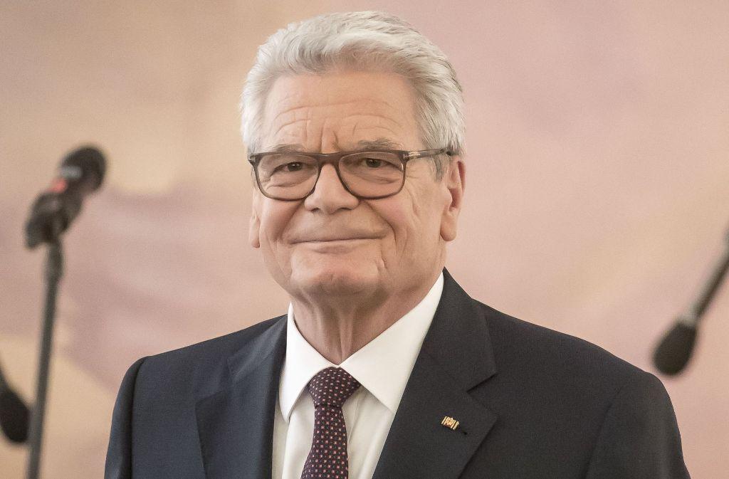 Joachim Gauck plädiert für einen starken Staat. Foto: dpa