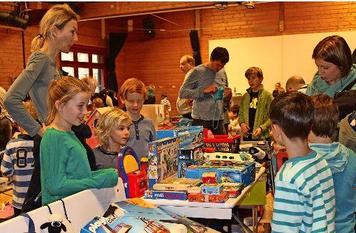 Jubiläumsflohmarkt im Kinderhaus Büsnau