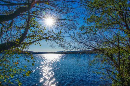 Da kommt Ferienstimmung auf: Blick auf den Bostalsee.