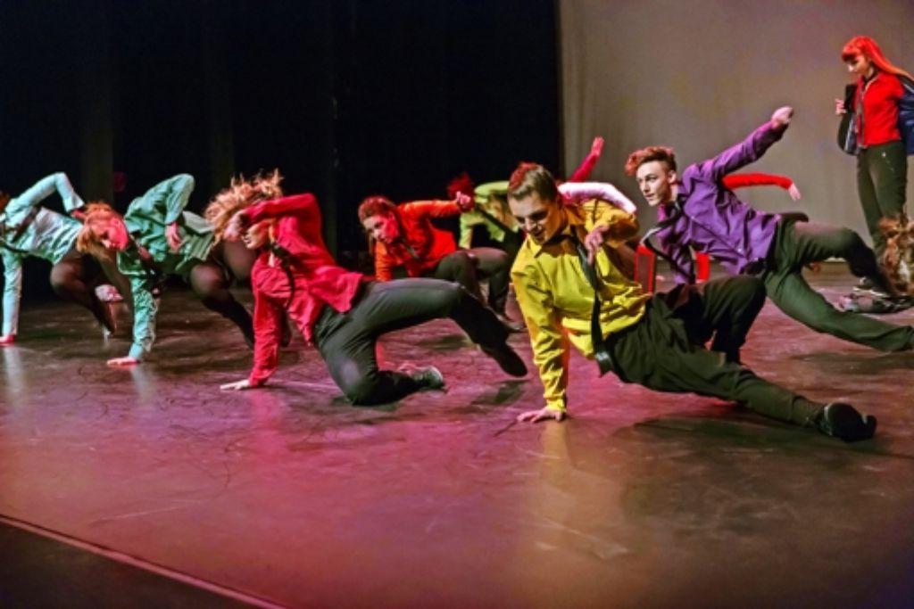 Den  Spaß am Tanzen will  die New York City Dance School auch beim Auftritt im Theaterhaus zeigen. Foto: NYCDS