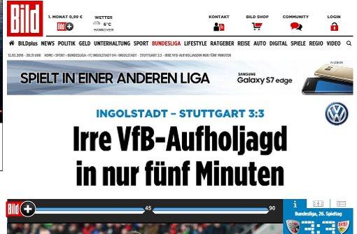 Irre VfB-Aufholjagd