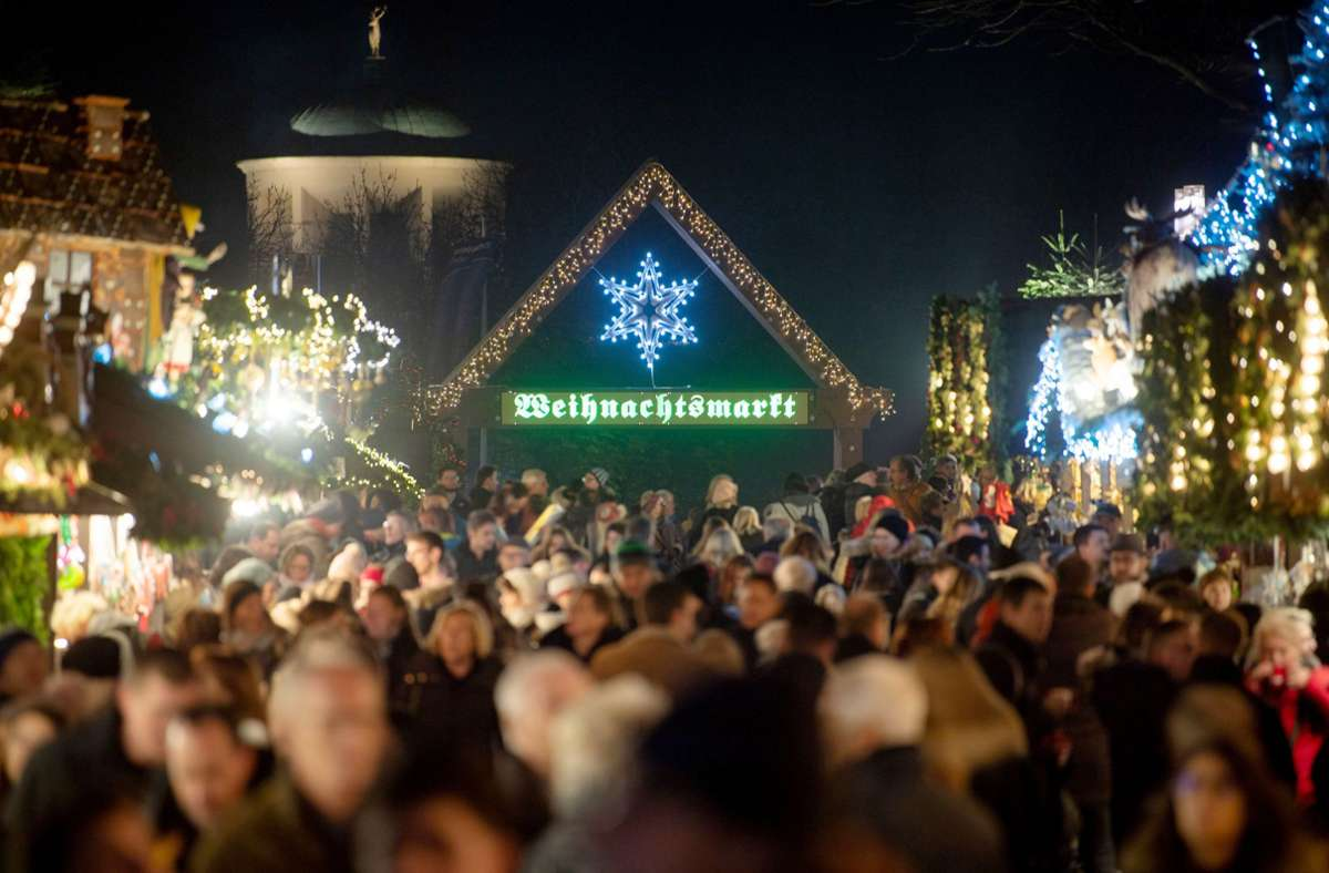 In Stuttgart wird es in diesem Jahr keinen Weihnachtsmarkt geben. Foto: dpa/Marijan Murat