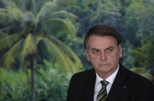 Brasilianischer Präsident Bolsonaro mit Coronavirus infiziert